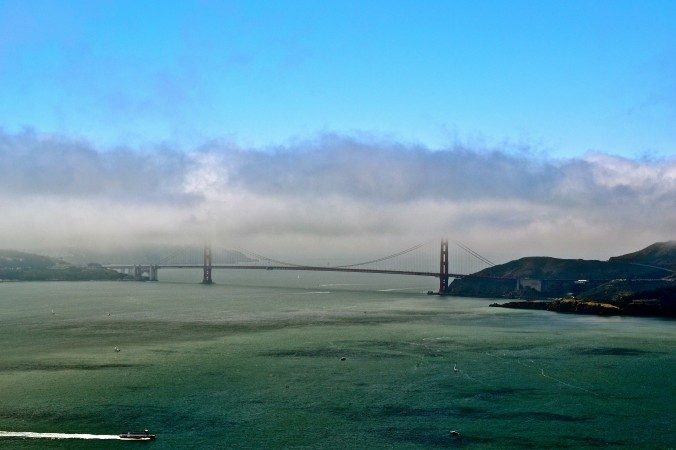 Golden Gate SF Bay Fog