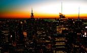 Manhattan Winter Sunset 2