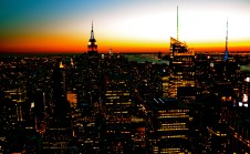 Manhattan Winter Sunset 2
