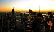 Manhattan Winter Sunset