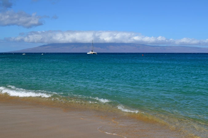 Maui Beach Looking Southwest