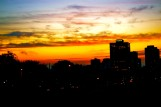 Sunrise Montreal Skyline