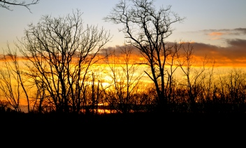 Sunset in Northern Virginia